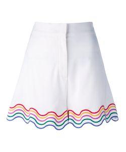 Sara Battaglia | Rainbow Trim Shorts Size 42