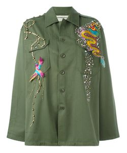Night Market | Dragon Patch Studded Jacket