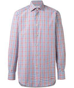Kiton | Fine Check Shirt 41