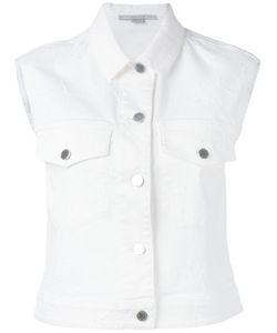 Stella McCartney   Cropped Denim Waistcoat Size 40