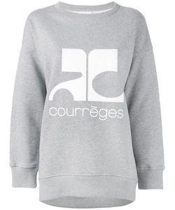 Courrèges | Logo Print Sweatshirt Size 2