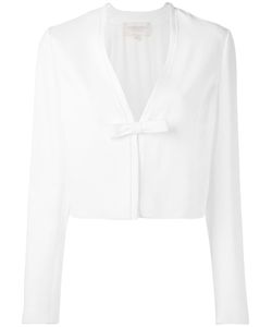Giambattista Valli | Cropped Bow Jacket Size 42