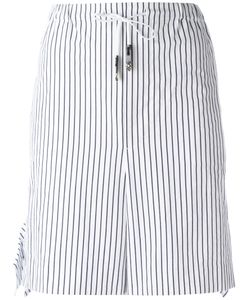 Toga   Striped Tie-Waist Shorts 38