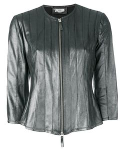 Desa | 1972 Collarless Leather Jacket