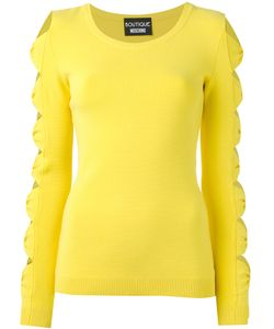 Boutique Moschino | Cut-Out Bow Jumper Size 44