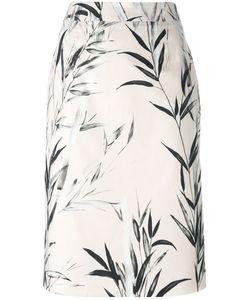 Blumarine   Printed Pencil Skirt Size 46
