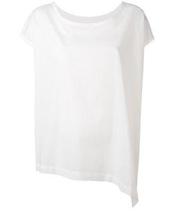 Y's   Asymmetric Cap Sleeve T-Shirt