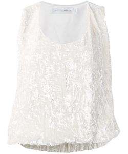 Victoria Beckham | Embroidered Top Size