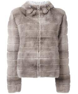 Liska   Hooded Coat Large