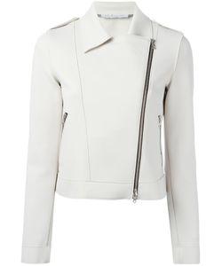 Harris Wharf London | Asymmetric Zip Biker Jacket Size 46