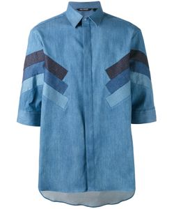 Neil Barrett | Denim Stripe Shirt Size 38