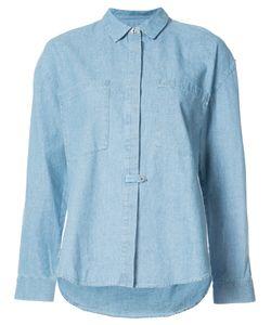 Derek Lam 10 Crosby   Concealed Placket Shirt