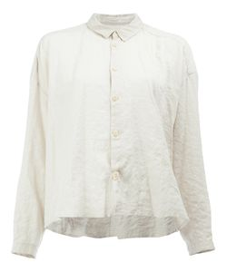 Toogood | Cropped Crinkle Effect Shirt Size 3