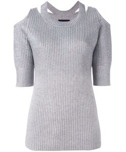 Zoe Jordan | Aristotle Cold Shoulder Sweater Size S/M
