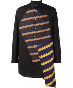 Agi & Sam | Striped Panels Shirt