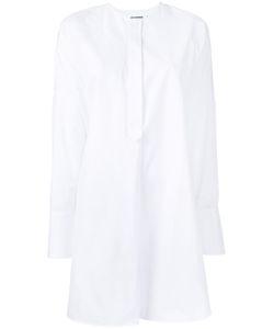 Jil Sander   Collarless Shirt 32 Cotton