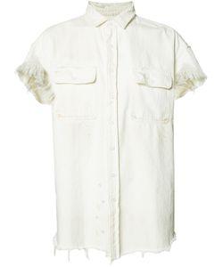 R13 | Frayed Denim Shirt M