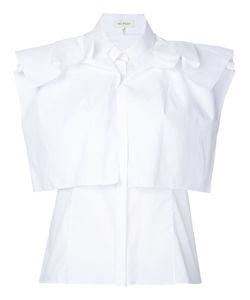 Delpozo | Sleeveless Layered Shirt 44