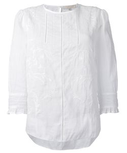 Vanessa Bruno | Embroide Details Blouse 40 Ramie/Cotton/Polyester