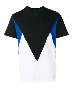 Neil Barrett | Geometric Colour Block T-Shirt Size Large