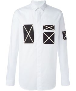 Cy Choi | Contrast Patch Shirt