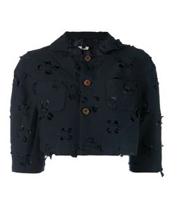 Comme Des Garçons Comme Des Garçons | Cut Out Cropped Jacket