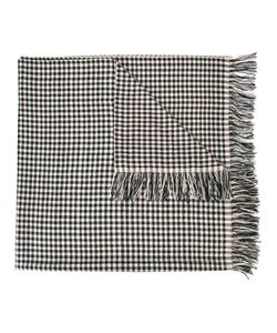 The Elder Statesman | Cashmere Checked Scarf Adult Unisex Cashmere