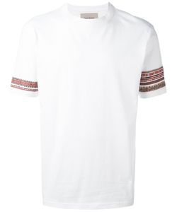 Casely-Hayford   Embroidered Sleeves T-Shirt L