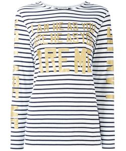 Each X Other | Stripe Lettered Top