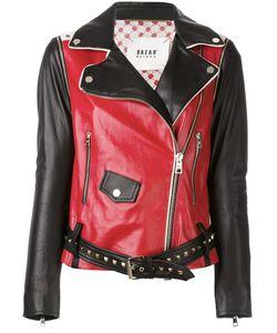Bazar Deluxe   Contrast Biker Jacket Size 44