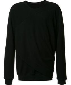 Julius   Draped Detail Sweatshirt 3 Cotton