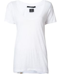 Ksubi   Scoop Neck T-Shirt Xs Cotton