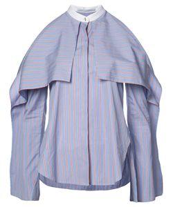 Rosetta Getty | Cold-Shoulder Shirt Size 6