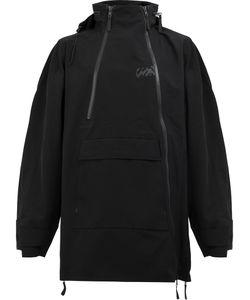 Yang Li | Zip-Detail Hooded Coat Size 48