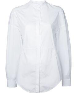 Courrèges   Collarless Shirt 38