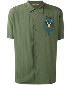 Nuur | Embroidered Figure Shirt 50