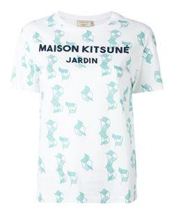 Maison Kitsuné | Chair Print T-Shirt Size Large