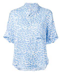 Julien David | Printed Shortsleeved Shirt Size Small