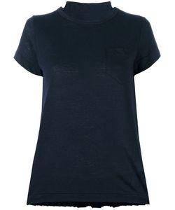 Sacai | Tribal Lace Panelled T-Shirt