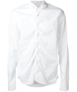 Marni   Ruched Poplin Shirt 48 Cotton