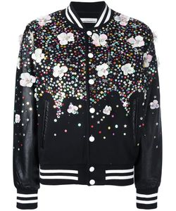 Night Market | Embellished Bomber Jacket Medium