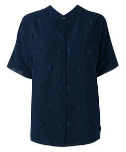 Steffen Schraut | Flower Embellished Shirt Size 40