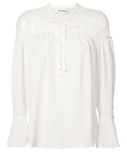 Yigal Azrouel | Lace-Up Blouse Women
