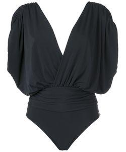 Brigitte   Deep V Neck Swimsuit Pp Polyamide/Spandex/Elastane