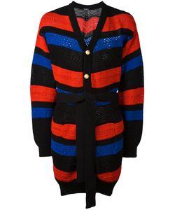 Balmain | Striped Oversized Cardigan Size Medium