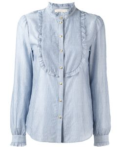 Vanessa Bruno | Striped Bib Shirt Size 36