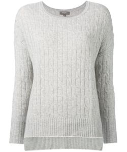 N.Peal | Oversize Box Cable Jumper Women