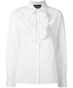Boutique Moschino | Ruffled Trim Shirt Size 44