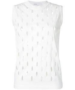 08Sircus | Perforated Detail Sleeveless Top