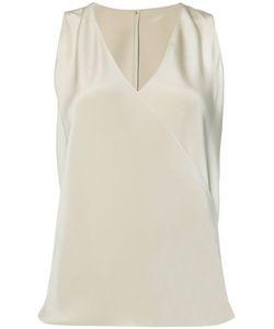Peter Cohen | V-Neck Top Small Silk